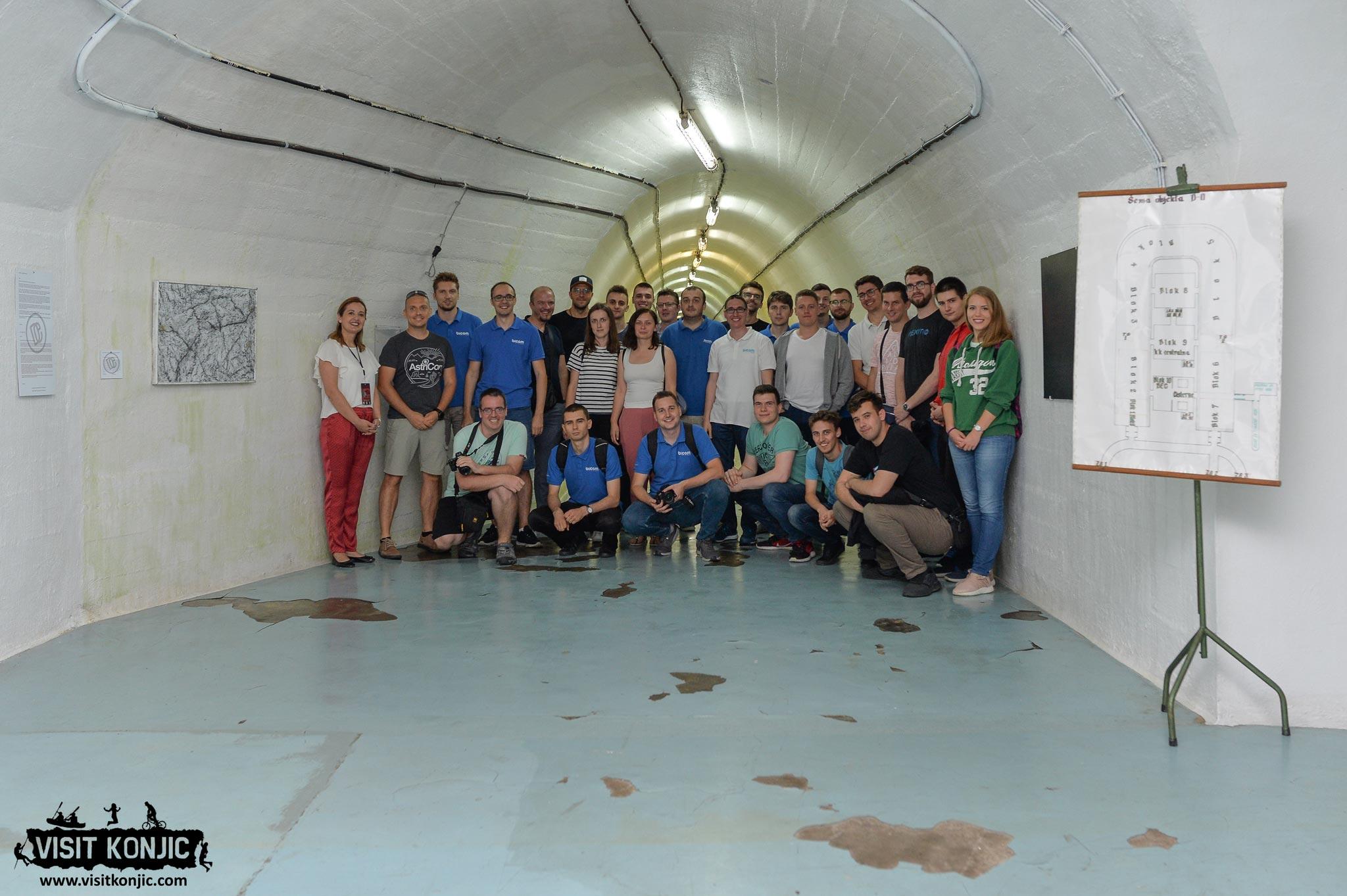 Bicom Systems at Titos Bunker