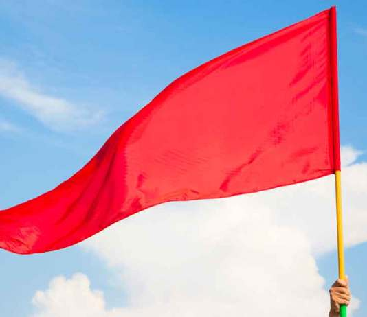 Red Flags with a Service Provider