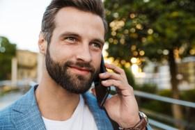 business with beard