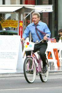 Harrison Ford, mashing!