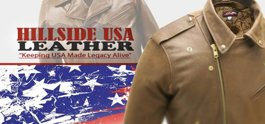 Hillside USA American Made Leather Motorcycle Gear