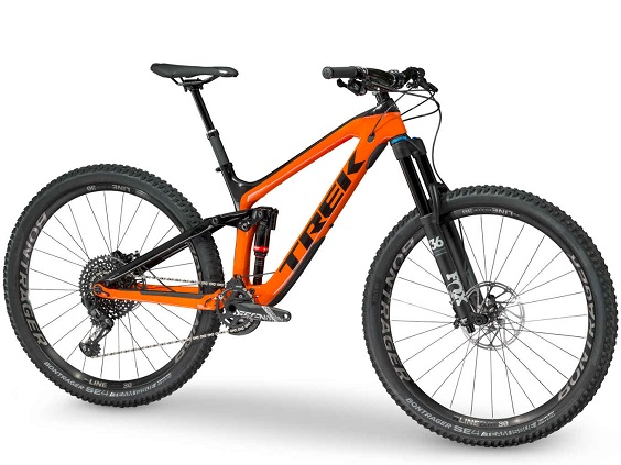 trek slash bike para enduro