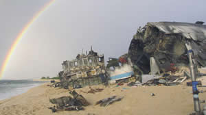 lost series finale Oceanic 815wreckage image