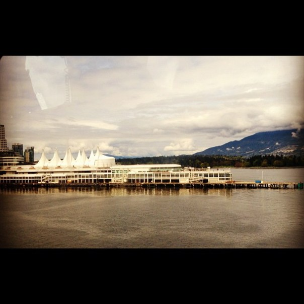 I am landing next to Vancouver Convention center now. #VCC #downtown #vancouver - from Instagram