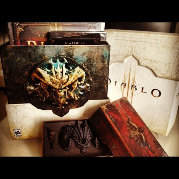 #Diablo3 collector's edition! What's inside? - from Instagram