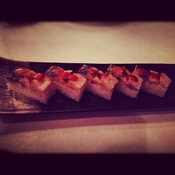 Mmm! #Saba #Sushi @minamiyaletown #dinner - from Instagram