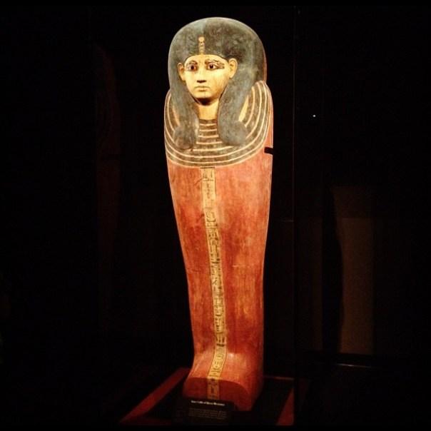 Inner coffin of #Queen #Meritamun. #kingtut #2daysinseattle - from Instagram