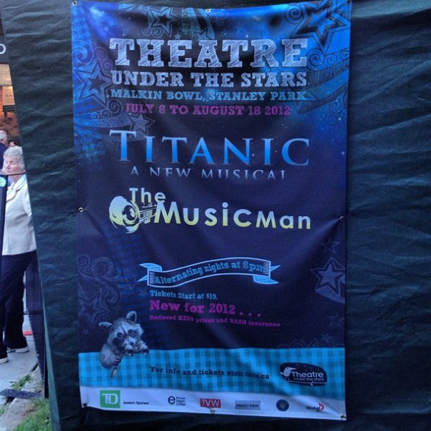Theatre under the stars presents #Titanic a new musical! - from Instagram