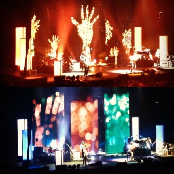 #Amazing stage artwork @Jason_Mraz #concert #vancouver - from Instagram