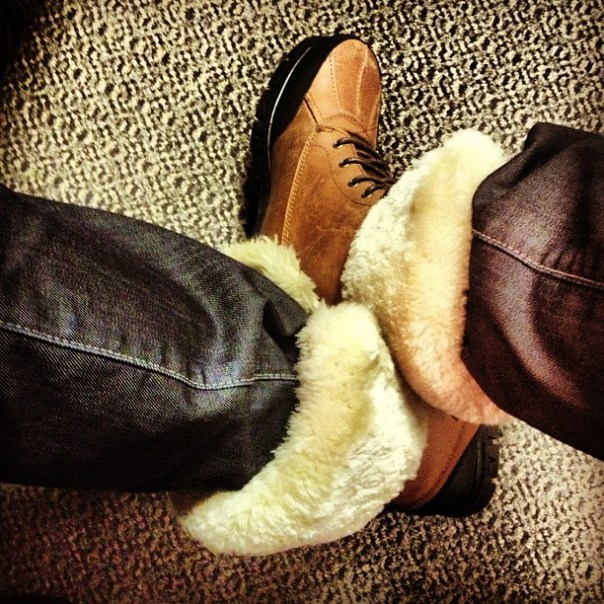 My #furry #boots remind me of @UltimateWarrior by some reason. #wwe #wwf #warrior - from Instagram