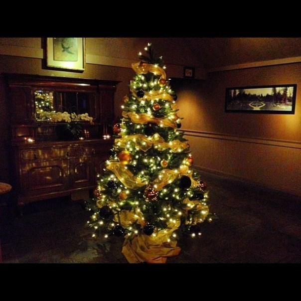 Pretty #Christmas tree @ #foodtalksvan vol. 5 - from Instagram