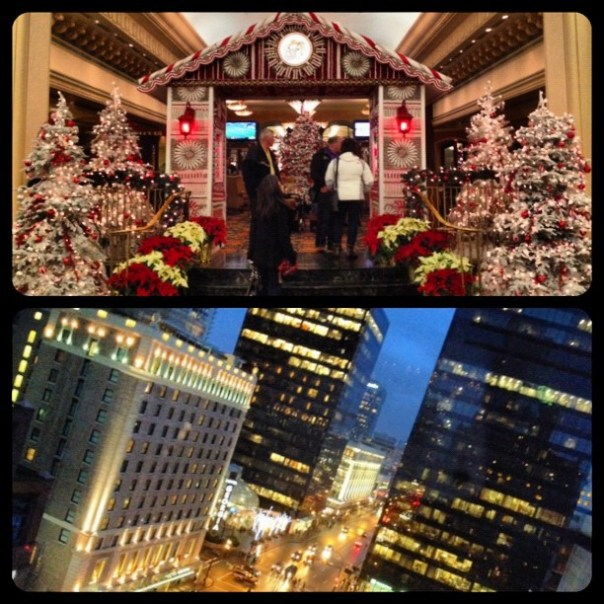 Home for the night @FairmontVan #christmas #downtown #vancouver - from Instagram