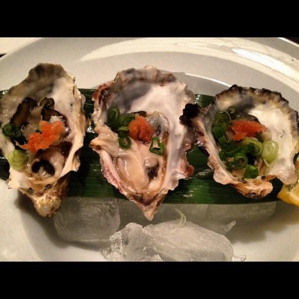 Mmm fresh #oyster to start dinner! #RoyalMiyagi - from Instagram