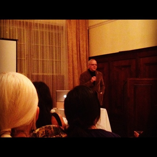 It's my honor to see #chef John Bishop tonight! @vanfoodster presents #foodtalksvan - from Instagram