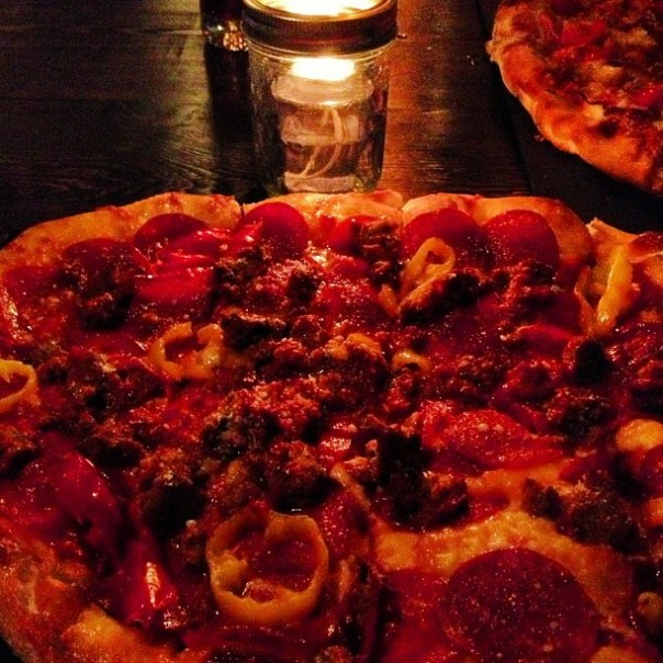 #Oscar #Pizza night @ParlourYaletown #TheDirty - from Instagram