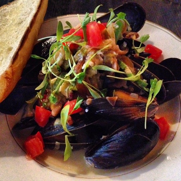 #Bacon & #Mussels @ParlourYaletown #brunch - from Instagram