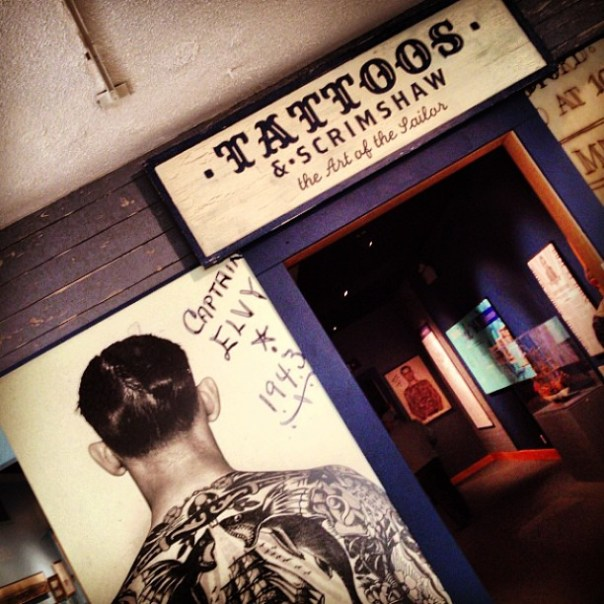 #Tattoos & #Scrimshaw - the art of the #sailors - from Instagram