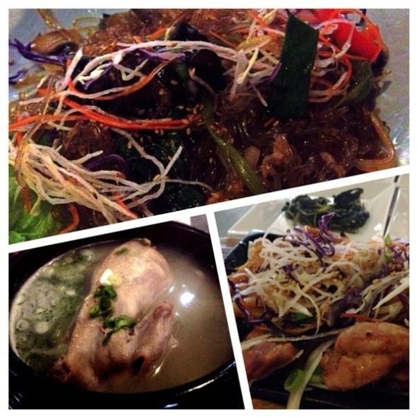 Yummy #Korean #food feast! - from Instagram