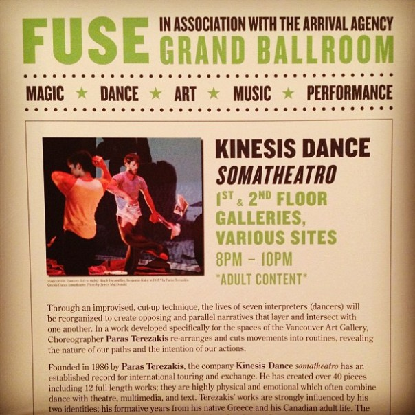 Vancouver Art Gallery presents #FUSE - Grand Ballroom #magic #art #dance #music #performance - from Instagram
