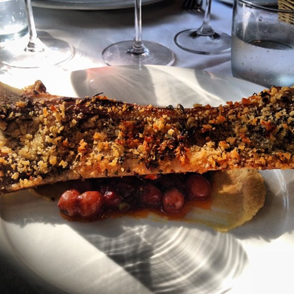 Tasting chef Brian's signature #Beef #Marrow @KitsDaily #ChefsDishesYVR - from Instagram