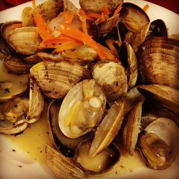 #Fresh Manila #Clams in white #wine sauce. - from Instagram