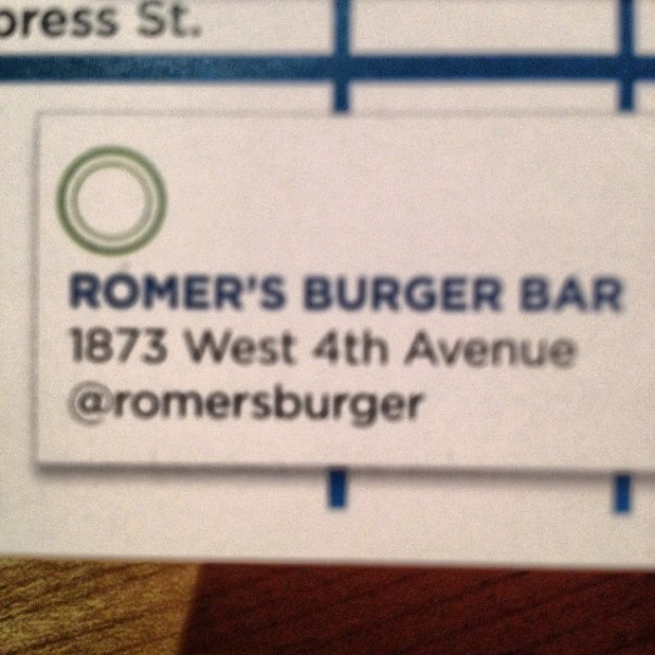 Nothing to post. I haven't received anything, even a cup of water. @romersburger #tastingplatesyvr - from Instagram