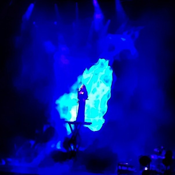 Here comes the one and only Sarah Brightman! #Dreamchaser #Concert - from Instagram