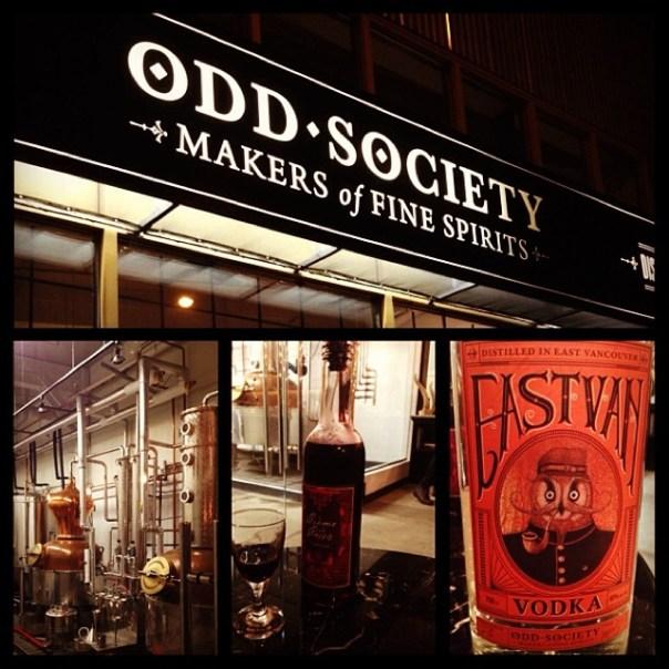 Boutique #brewery in town! @oddspirits @EastVillageVan  #tastingplatesyvr - from Instagram