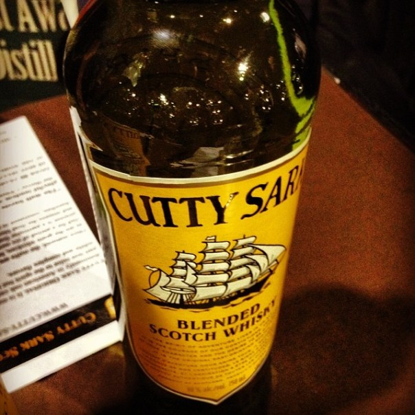 Booze no. 4 #CuttySark! #Whisky #hopscotchfest - from Instagram