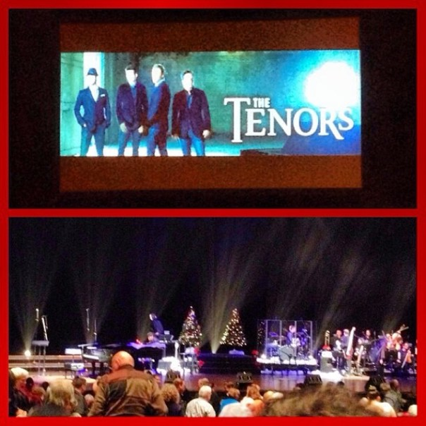 Having a classy evening with #TheTenors - The Perfect Gift #Christmas #Concert - from Instagram