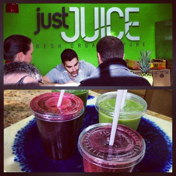 2nd stop of West End Brunch Crawl #VFWestEndBrunch is @Justjuicebar #Blu-ishCoconut - from Instagram