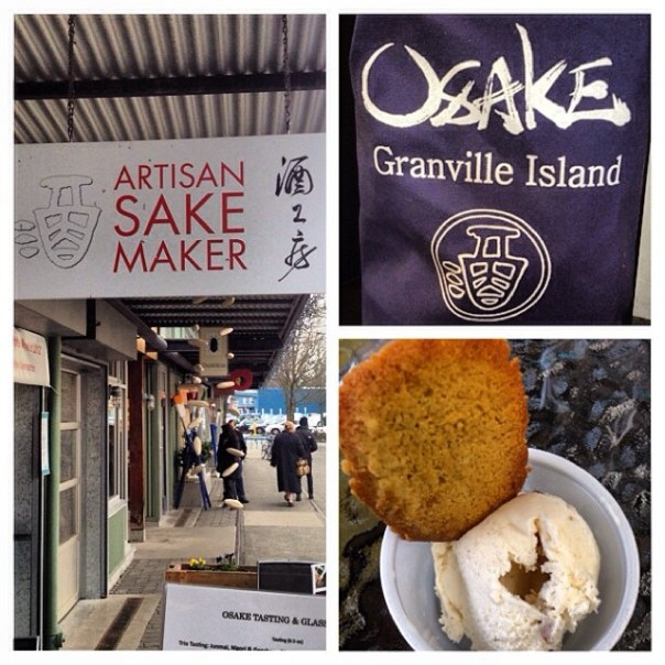 Tasting #Osake Junmai Nama + Sakesu R-ice Cream @artisansake #VFPalate - from Instagram