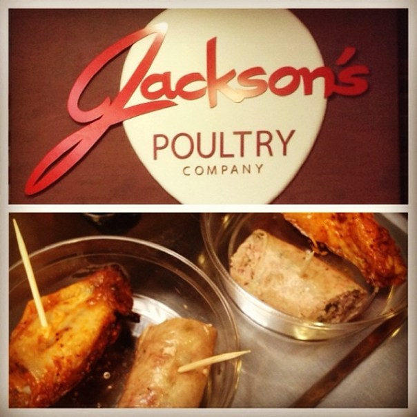 4th stop of #VFPalate is @JacksonsPoultry #Chicken #sausage - from Instagram
