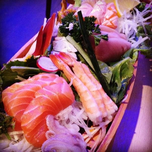 Korean sashimi love boat! - from Instagram