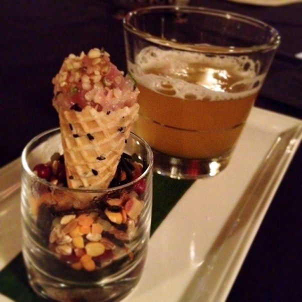 Tuna #Tataki + Belgian #Beer @1789Restaurant #vfscavhunt - from Instagram