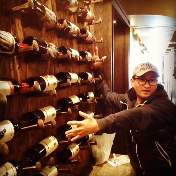 """Mine all mine!! Wine Wednesdays @theparlouryaletown - only $1 an oz!"" #vfscavhunt - from Instagram"