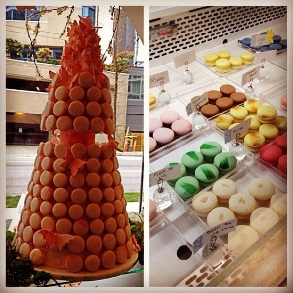Tasty #Macarons & tea @soiretteMacaron #vfscavhunt - from Instagram