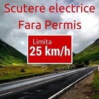 Scutere electrice conduse fără permis (2019)