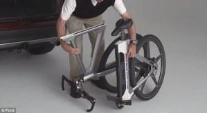 bicicleta electrica ford MoDe:Flex