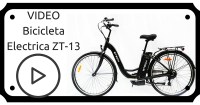 VIDEO Bicicleta electrica ZT-13