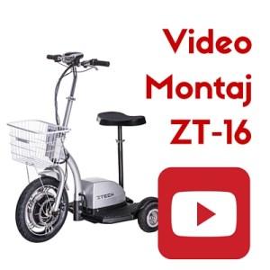 cum se monteaza tricicleta zt-16