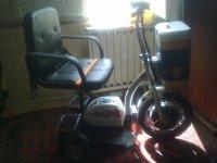 tricicleta zt-16 modificare scaun