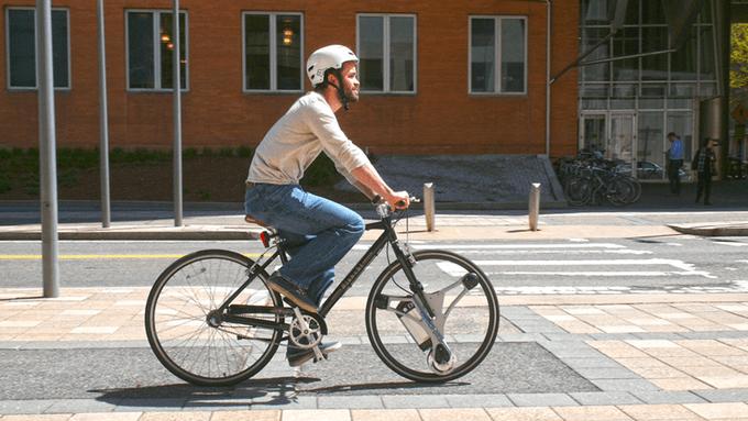 GeoOrbital Wheel - roata electrică pentru orice bicicletă