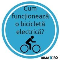 Cum funcționează o bicicletă electrică?