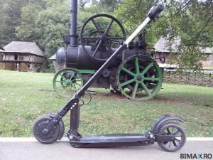 locomotive in parc astra sibiu