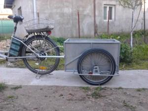 trailer bicicleta electrica regie proprie