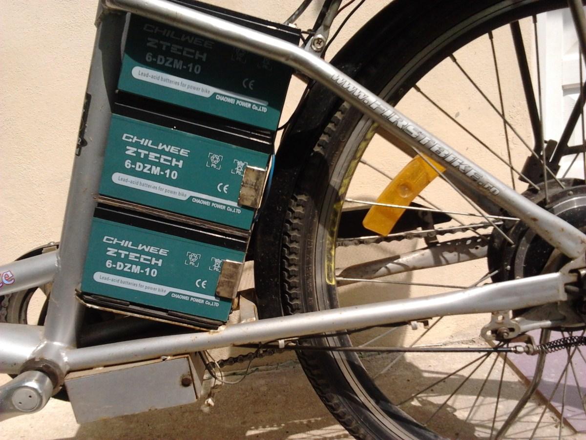 Unde găsesc acumulatori pentru First Bike Electra/Eco/Elegance?
