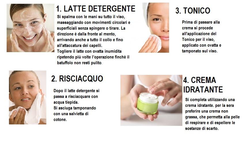 pulizia del viso naturale fai-da-te per mamme e future mamme