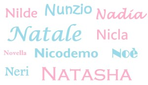 Nomi lettera N bimbonaturale