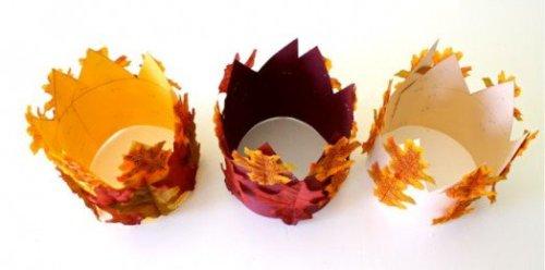 corona foglie secche